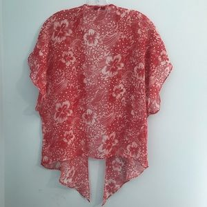 American Eagle Sheer Short Kimono Cover Up
